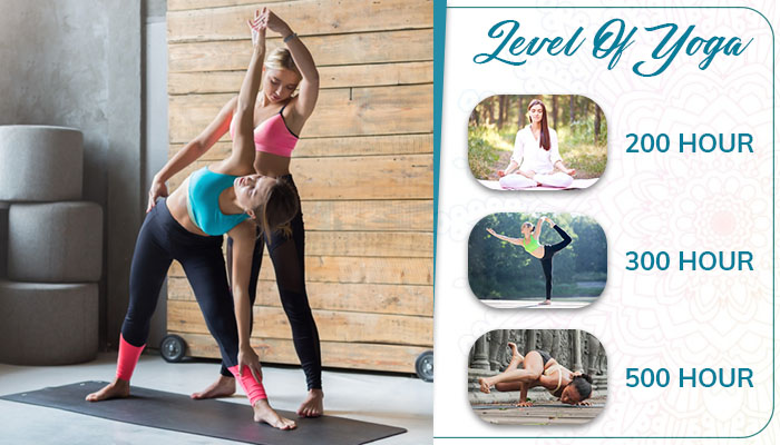 Level of yoga teacher training to become a certified yoga instructor