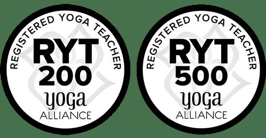 RYT 200 500 yoga alliance