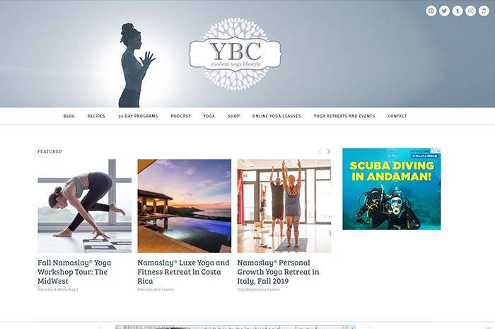 yoga by Candace blog