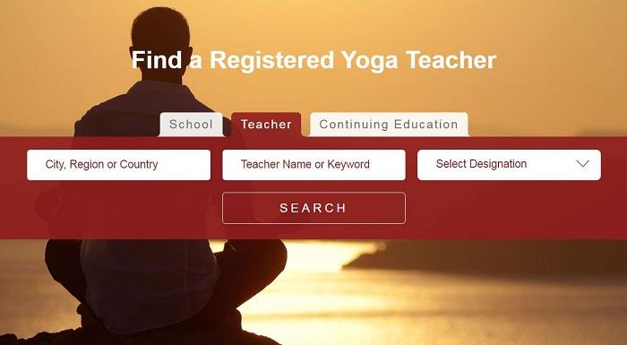 Yoga Alliance Directory Listing