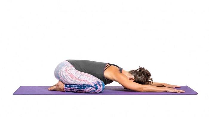 Child's Pose - how to start yoga practice