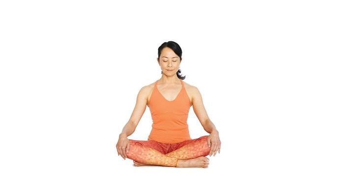 easy pose - how to start yoga practice
