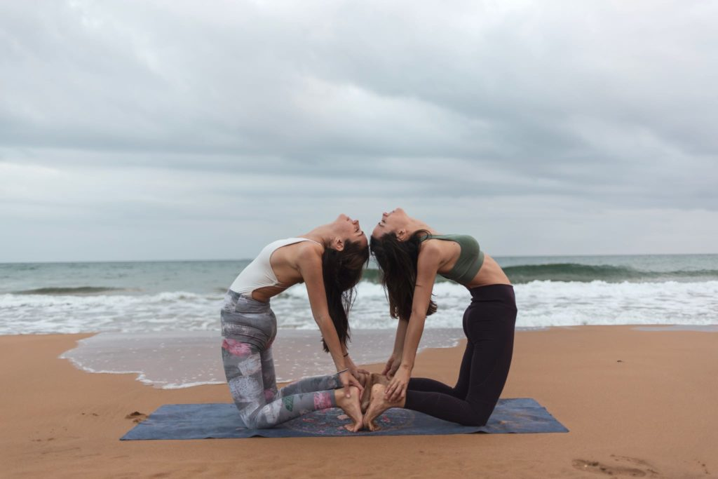 12 Yoga Poses For Two People Partner Yoga Poses Retreat Kula