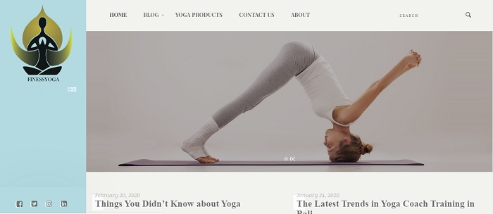 Finess Yoga blog