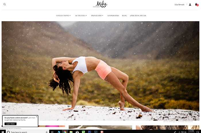 Mika Yoga Wear blog