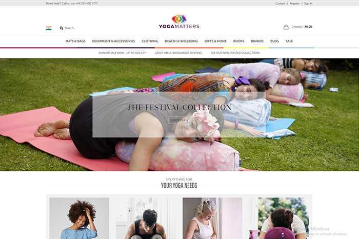 Yoga Matters blog